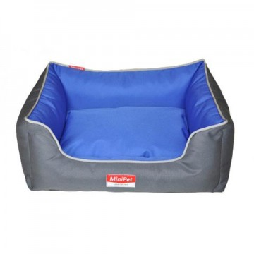MiniPet Water Resistant Pet Bed with Lining - Small