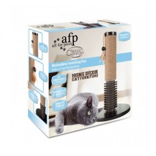 AFP Classic Comfort Mochachino Scratching Post with Rubber Bristles