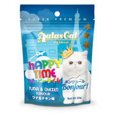 Aatas Cat Happy Time Bonjour Tuna & Chicken 60g