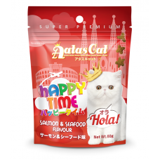 Aatas Cat Happy Time Hola Salmon & Seafood 60g