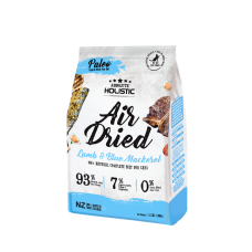 Absolute Holistic Air Dried Cat Food 500g Blue Mackerel & Lamb