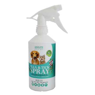 Absolute Plus Flea & Tick Control with Neem Oil 500ml