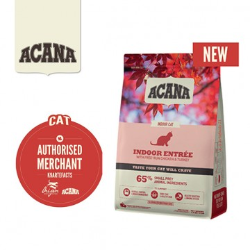 Acana Indoor Entree Dry Cat Food 4.5kg