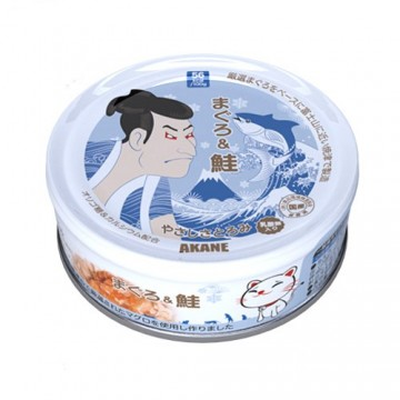 Akane Tuna & Salmon in Thick Gravy 75g Carton (12 Cans)