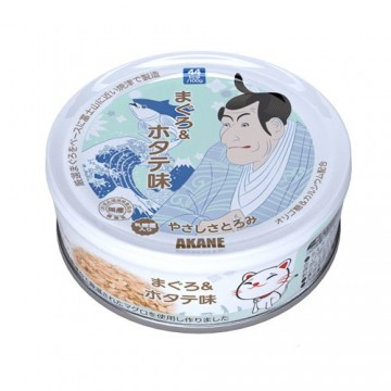 Akane Tuna & Scallop in Thick Gravy 75g Carton (12 Cans)