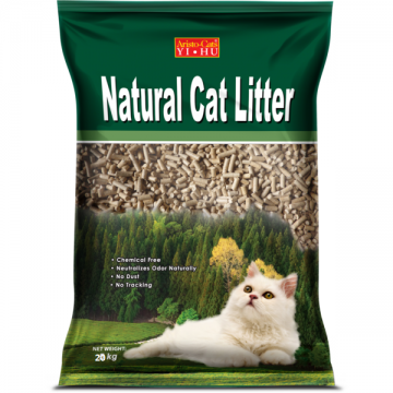 Aristo Cats Natural Cat Litter Pine Wooden Pellet 20kg