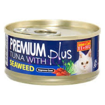 Aristo Cats Premium Plus Tuna with Seaweed 80g