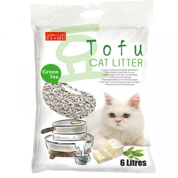 Aristo Cats Tofu Litter Green Tea 6L