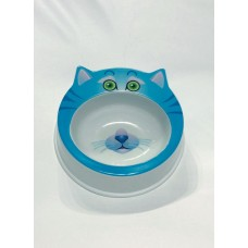 Animal Design Pet Bowl Blue Smurfs