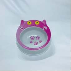 Animal Design Pet Bowl Pink Panther