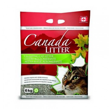 Canada Litter Cat Litter Unscented 6kg (3 Packs)