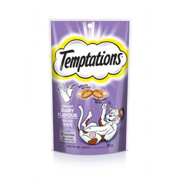 Temptations Creamy Dairy Flavour 85g (3 Packs)
