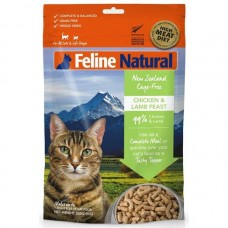 Feline Natural New Zealand Cage-Free Chicken & Lamb Feast 100g