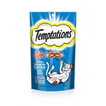 Temptations Savoury Salmon Flavour 85g (3 Packs)
