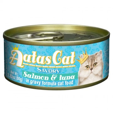 Aatas Cat Savory Salmon & Tuna 80g