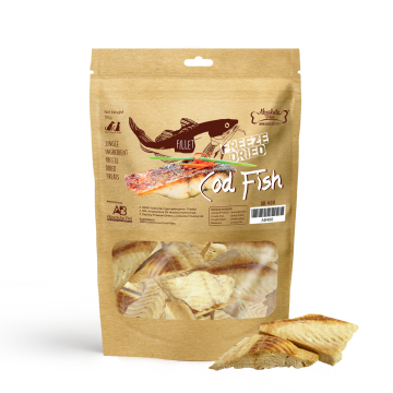 Absolute Bites Freeze Dried Cod Fish 50g