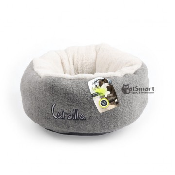 AFP Catzilla Mellow Cat Bed Grey