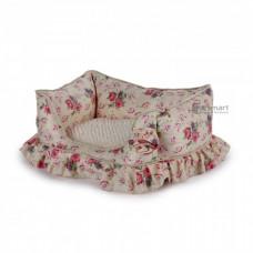 AFP Bolster Bed Medium Cream
