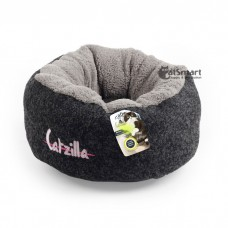 AFP Catzilla Mellow Cat Bed Black