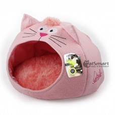 AFP Catzilla Meow Cat House Pink