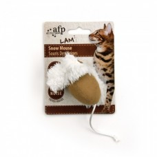 AFP Snow Mouse with Catnip Infused