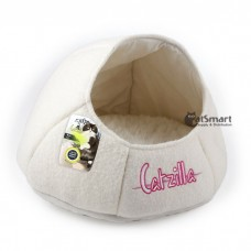 AFP Catzilla Nest Cat Bed White