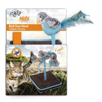 AFP Bird Floor Wand with Chirping Sound