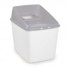 AFP Classic Comfort Go Fresh No Mess Litter Box Grey