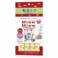 Aixia Miaw Miaw Creamy Tuna  (Hairball Control)  15g x 4s