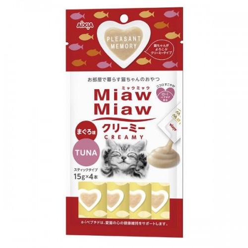 Aixia Miaw Miaw Creamy Tuna 15g X 4 S