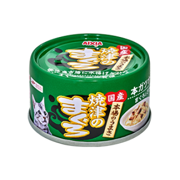 Aixia Yaizu-no-maguro Tuna & Chicken with Skipjack Tuna 70g Carton (24 Cans)