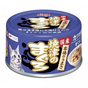 Aixia Yaizu-no-maguro Tuna & Chicken with Dried Skipjack 70g