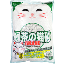 Akane Paper Litter Green Tea 7L