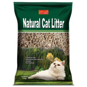 Aristo Cats Natural Cat Litter Pine Wooden Pellet 20kg ( 2 Packs)