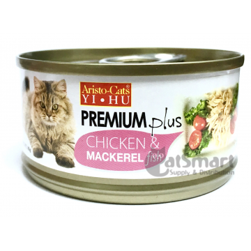 Aristo Cats Premium Plus Chicken & Mackerel Fish 80g