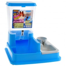 Armonto Food and Water Feeder Blue