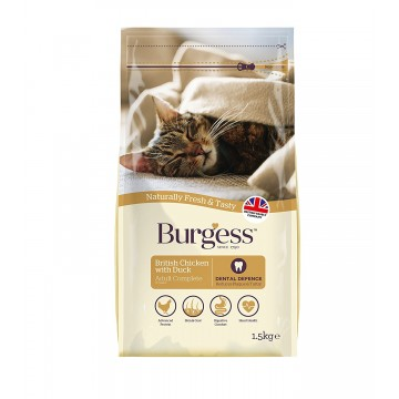 Burgess British Chicken with Duck 1.5kg