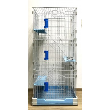 Cat Cage Light Blue