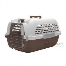 Dogit Voyageur 100 Pet Carrier Brown White