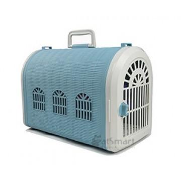 Armonto Pet Carrier Single Door Blue