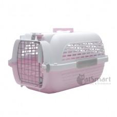 Catit Voyageur Cat Carrier (M) Pink White