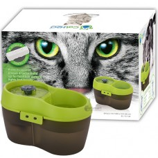 Cat H2O Fresh & Filtered Water Fountain 2L Green