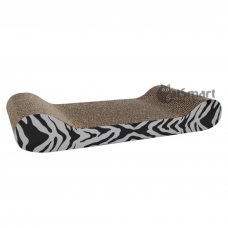 Catit Scratcher Lounge With Catnip White Tiger