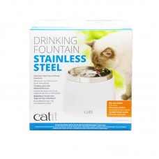 Catit Stainless Steel Drinking Fountain 2L