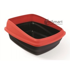 Cat Love Cat Pan with Removable Rim Red & Charcoal