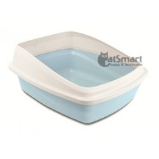 Cat Love Cat Pan with Removable Rim Blue & Grey Large