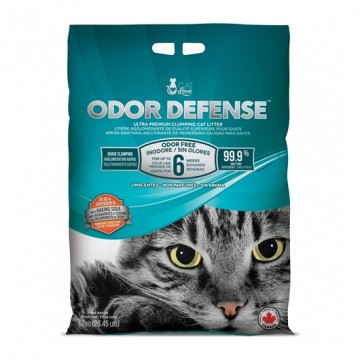 Cat Love Odor Defense Clumping Cat Litter Unscented 12kg