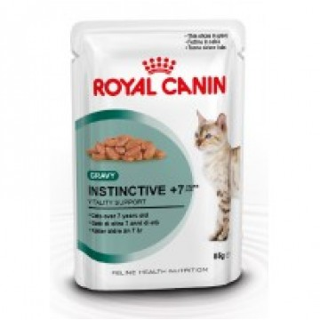 Royal Canin Pouch Instinctive +7 85g Pack (12 Pouches)
