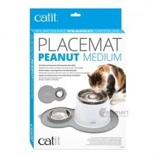 Catit Placemat Peanut (M) Grey