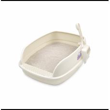 Catidea Bread Cat Litter Box Cream Small